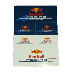 Set de 6 autocollants Red Bull Racing