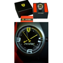 Ferrari Pitstop Watch black/yellow