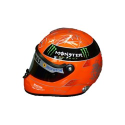 2012 Michael SCHUMACHER mini helmet