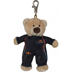 Red Bull Racing Race Bear Keyring