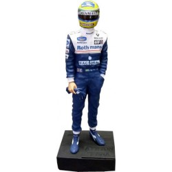 Ayrton SENNA / ROTHMANS-WILLIAMS figurine