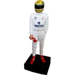 Ayrton SENNA / Paris-Bercy Karting figurine