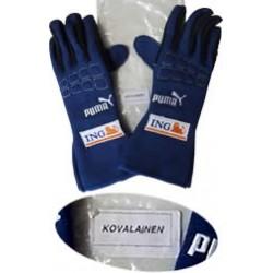 2007 Heiki KOVALAINEN / RENAULT F1 gloves