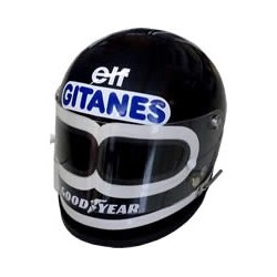 Jacky ICKX 2 eye replica helmet