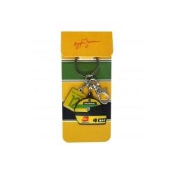 Ayrton Senna Helmet keyring