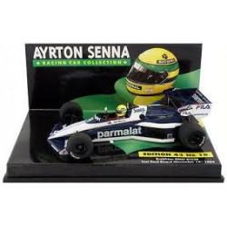 Brabham BMW BT52B Test Ayrton Senna
