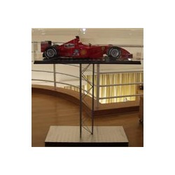 Complete display with plexi showcase for 1/5 scale cars