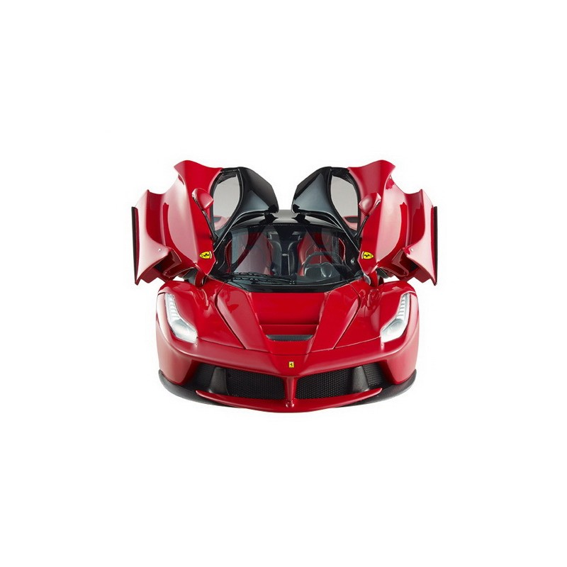 LaFerrari 2013 red with black roof, scale 1/18th ...