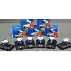Helmets Alain PROST 1985-1991, scale 1/8th
