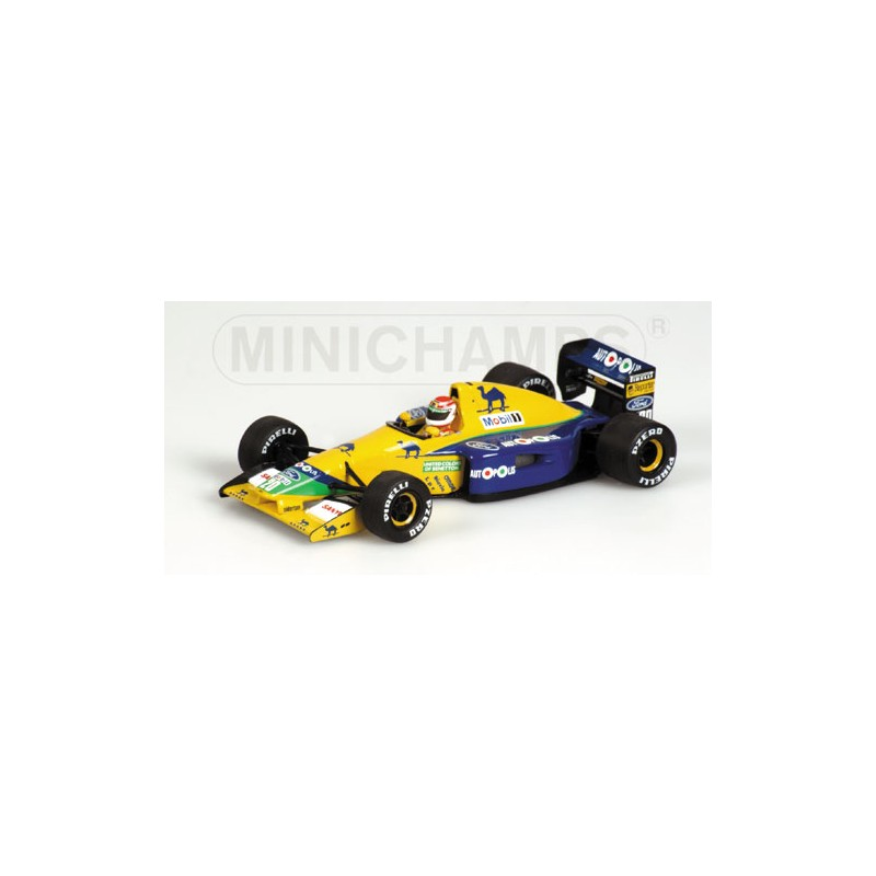 F1 gt; Miniature model cars gt; Scale 1/43rd gt; Benetton Ford B191