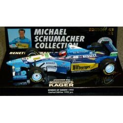 Benetton Renault B195 M.Schumacher GP d'Europe 1995