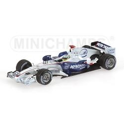 BMW-Sauber F1.06 N.Heidfeld 3rd Place Hungary GP 2006