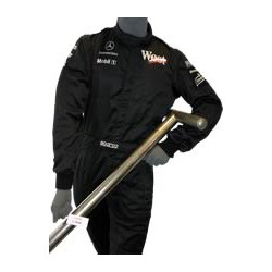 McLaren mechanics suit with WEST branding
