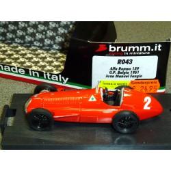 Alfa Romeo 159 Juan Manuel Fangio 1951