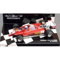 Ferrari 126 C2 Didier Pironi 1982