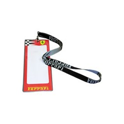 Ferrari Lanyard with ticket holder