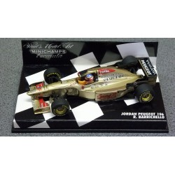 Jordan Peugeot 196 Rubens Barrichello 1996