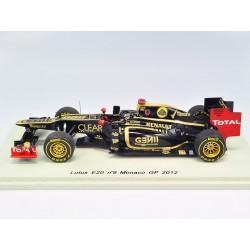 Lotus E20 K.Räikkönen GP de Monaco 2012 (casque Hunt)
