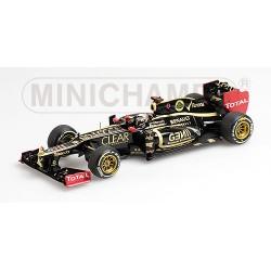 Lotus Renault E20 K.Räikkönen vainqueur GP d'Abu Dhabi 2012