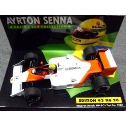 McLaren MP4-3 Test car Ayrton Senna 1987