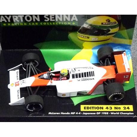 McLaren MP4/4 Ayrton Senna Japan GP 1988