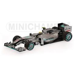 Mercedes MGP W01, 1st Podium, Malaysian GP 2010