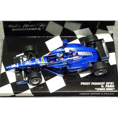 "Prost Peugeot AP01 ""Tower Wings"" O.Panis 1998"