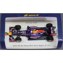 Red Bull RB10 D.Ricciardo Winner Belgium GP 2014