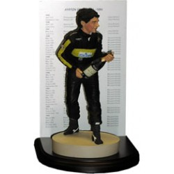 Figurine Ayrton SENNA / JPS LOTUS