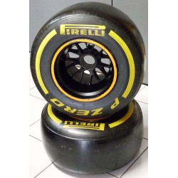 Roue arrière complète Caterham F1 2013