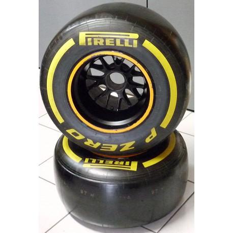 2013 Caterham F1 complete rear wheel