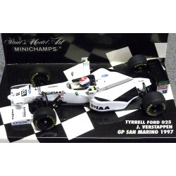 Tyrrell Ford 025 Tower Wings Jos Verstappen 1997