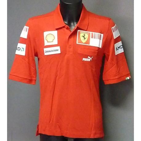 corsa shirts de collection puma rosso s pd of image collar polo in shirt en ferrari mens scuderia men