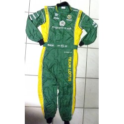 Team Lotus F1 mechanics suit