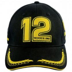 Ayrton Senna Cap 1st Victory 1985