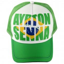 Ayrton Senna Cap Brazil