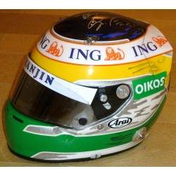 2007 Giancarlo Fisichella race used helmet