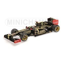 Lotus Renault E20 Kimi Räikkönen Winner Abu Dhabi GP 2012