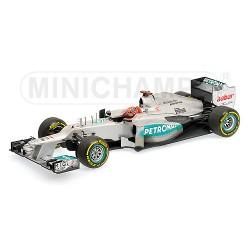 Mercedes AMG Petronas W03 M.Schumacher 2012