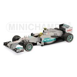 Mercedes AMG W03 N.Rosberg 1st Win, China GP 2012