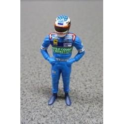 Figurine Jean ALESI / Benetton 1997