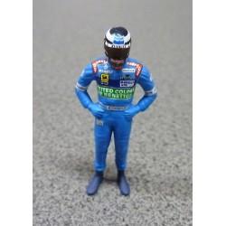 Figurine Gerhard BERGER / Benetton 1997