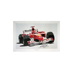 M.SCHUMACHER World Champion 2004, ltd edition