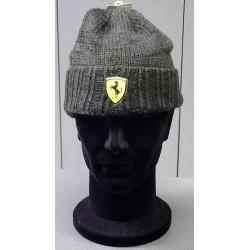 Ferrari beanie 1, black