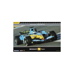 Giancarlo FISICHELLA Poster (on the backside is Fernando ALONSO)