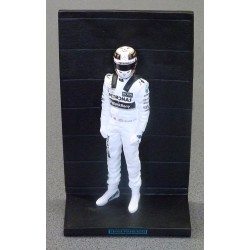 Lewis Hamilton 2015 World Champion figurine
