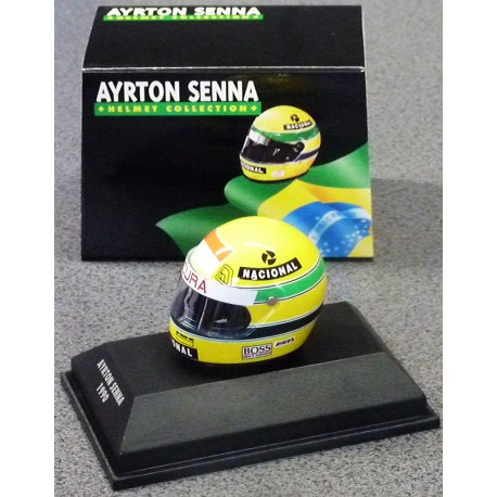 casque ayrton senna 1990 formulasports. Black Bedroom Furniture Sets. Home Design Ideas