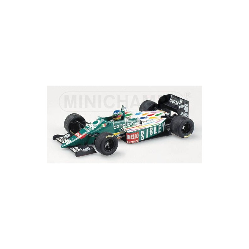 F1 gt; Miniature model cars gt; Scale 1/43rd gt; Benetton BMW B186 Gerhard