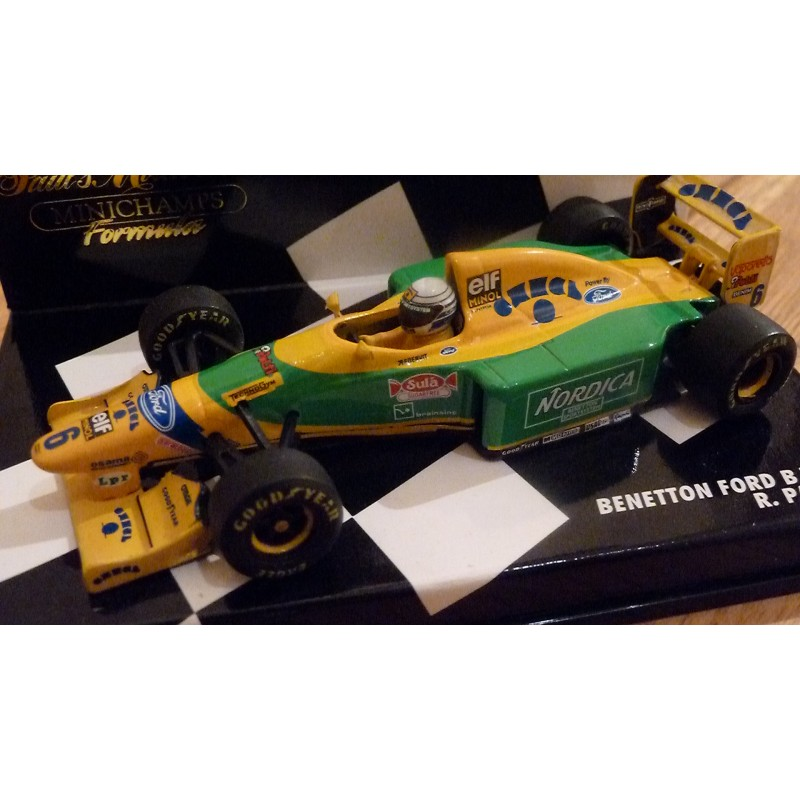 F1 gt; Miniature model cars gt; Scale 1/43rd gt; Benetton Ford B193B R