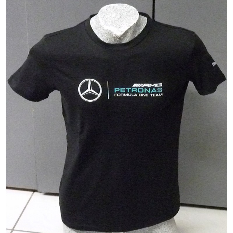 Mercedes Amg F1 Logo T Shirt In Dry Cell Quality Formulasports